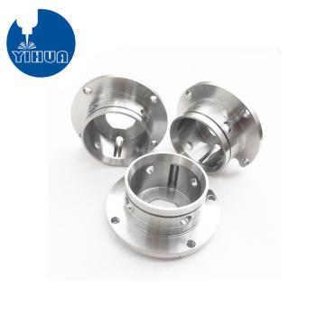 Conectores de flange de alumínio para torneamento CNC