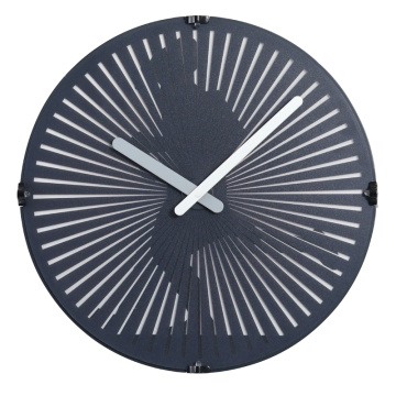 Running Man Wall Clock avec lumières LED