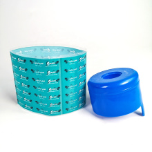 Private PVC/PET Neck Heat Shrink Wrap Sleeve Label Plastic Wrap Label For Water Bottle