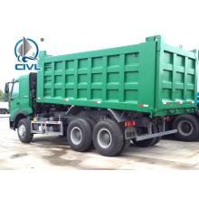 All Wheel Drive Styer Axle Sinotruk Dumper Truck