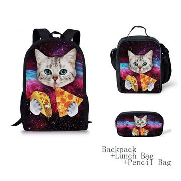 PIZZA KITTEN EVA 3D BACKPACK-0