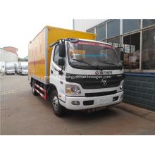 Foton furgoneta de transporte de mercancías peligrosas para la venta