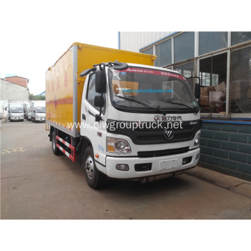 Foton dangerous goods transport van truck for sale