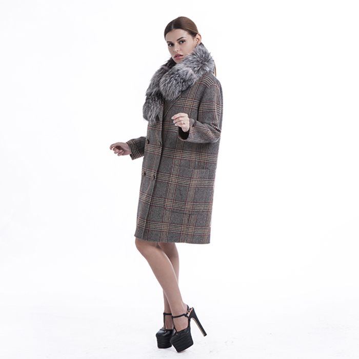 Big pocket new styles cashmere overcoat