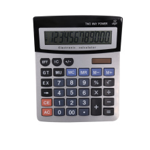 12 chiffres Calculatrice de bureau Dual Power Office