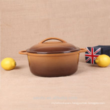 hot sale products cast iron small size dishes pot