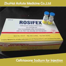 Health Medicine Ceftriaxone Sodium for Injection 0.5g