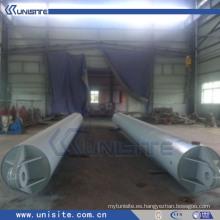 Tubo flotante de acero de la alta calidad para la draga (USB-4-004)