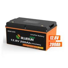 Bluesun Lithium Ion Batteries 12.8V  Lithium battery 12v 200Ah BSM12200 Lithium Battery Price For Solar System