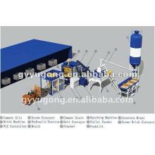 Prix de vente le plus vendu et compétitif de la machine automatique de fabrication de briques en béton Yugong QT-10-15
