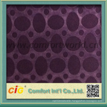 Purple Violet Color Flocking Fabric for Sofa Cover Upholstery