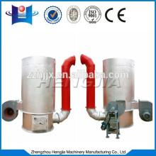 verticale de souffle chaud poêle connecter avec séchage machine