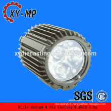 Forging casting and die casting aluminum abc 12 parts for led street light heat sinl radiator and led light heat sinks