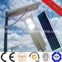 5 W 12V Panneau solaire et batterie au lithium Alliage d'aluminium LED Solaire Réverbère Logement Bridgelu Réverbère Intégrateur LED