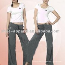 2013 Nouvelle conception saine yoga fitness wear pour les femmes, vêtements de yoga