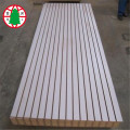 16 mm ranura mdf grooved mdf bordo