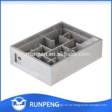 La aleación de aluminio de la precisión a presión piezas del filtro de la onda de la fundición