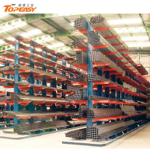 heavy duty steel structural storage tube cantilever racks