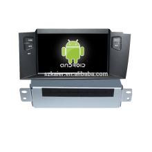 Quad core! Dvd do carro com link espelho / DVR / TPMS / OBD2 para 7 polegada tela sensível ao toque quad core 4.4 sistema Android Citroen C4L