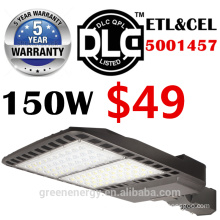 ETL DLC listed 5years warranty high effiency 130lm/w led shoe box street light 60w100w 150w 200w 250w 300w