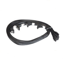 Cable SATA portátil multicolor 4X 7pin con pestillo