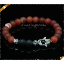Природные матовые браслеты Gemstone с аксессуарами из сплавов аксессуары (CB096)