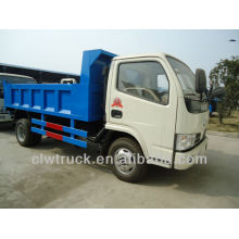 Dongfeng Small 5CBM Slip Cubierta Camión Volquete