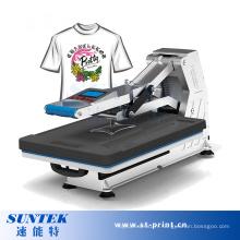 Machine manuelle de transfert de chaleur de Digital T-shirt à haute pression hydraulique