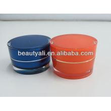 2ml 5ml 10ml 15ml 30ml 50ml 100ml Acrylic cosmetics jar for cream
