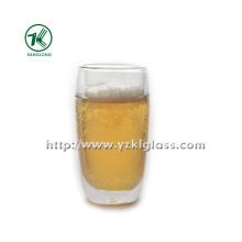 Garrafa de vidro da parede dobro por BV, GV (Dia8cm, H: 12.5cm, 308ml)