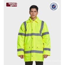 hi vis safety work clothes winter work uniform reflective safety jacket