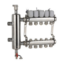 Ss304 Water Separator for Under Floor Heating System