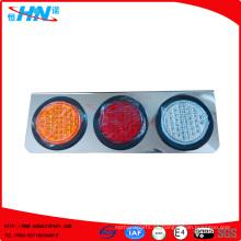 Ambar-Rojo-Blanco impermeable LED camión cola de la lámpara