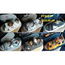 Мужчины последний высокое качество сандалии пляжные сандалии акций (FF328-5)