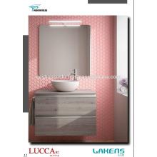 Günstige Preis Luxus-Ansicht mit unsichtbaren Aluminium-Griff Badezimmer Vanity
