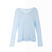 Fashion Spring Custom Breathable Long Sleeve Custom Sleepwears For Women