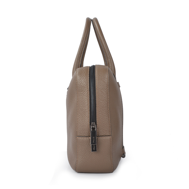 high quality business soft brown men and women elephant vintage genuine leather bag