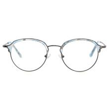 Wholesale Best Quality Ready Stock Ladies Acetate Metal Optical Frames Blue Light Block Glasses