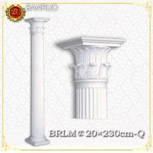 Banruo White Wedding Pillars Columns for Building Decoration