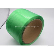 Billiger Preis Beste Qualität grüne Plastikumreifung