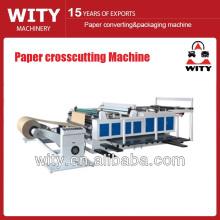 Contrôle d'ordinateur Machine de coupe transversale de papier de haute précision