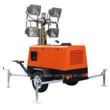 Mobile Diesel Construction Light Tower Generator
