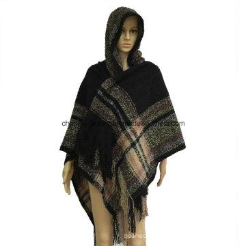 Damas últimas lana y cachemir bufandas bufandas Pashmina moda invierno acrílico jacquard pashmina chal