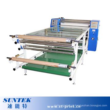 Máquina de transferência de sublimação de calor tipo rolo para impressão de tecido