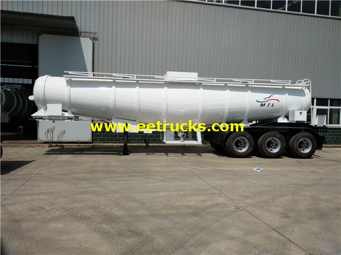 17000 Litres H2so4 Delivery Trailers