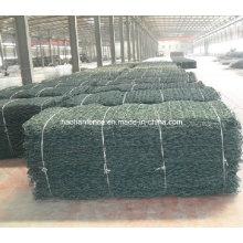 Kundenspezifische 100X120mm Mesh-Größe Galvanisierte Wire Mesh River Gabion Matratze