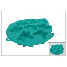 8 células Inseto em forma de molde de bolo de silicone (RS28)