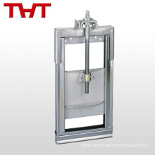 high performance stainless steel penstock water valve
