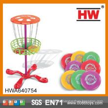 Disco de vuelo de plástico de los niños populares Disco de disco de juguete del disco de frisbee