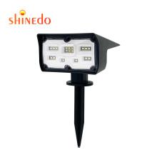 Shinedo  Outdoor Garden Lighting  LED Wall Spotlights Solar Motion Sensor Light